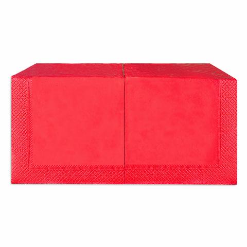 Салфетки 33х33 см красные двухслойные 200 шт.