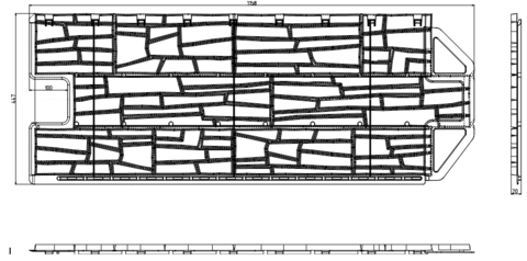 Фасадная панель Альта Профиль Каньон Колорадо 1160х450 мм