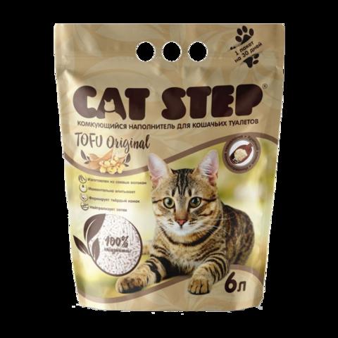 Cat Step Tofu Original Наполнитель для туалета кошек растительный комкующийся