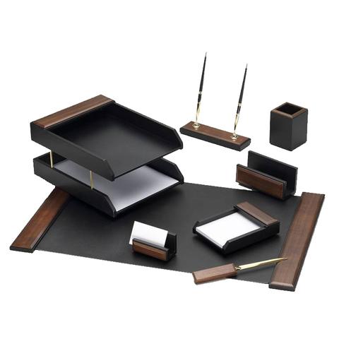 Настольный набор Good Sunrise T8G-1A (8 предметов) орех МДФ коричневый