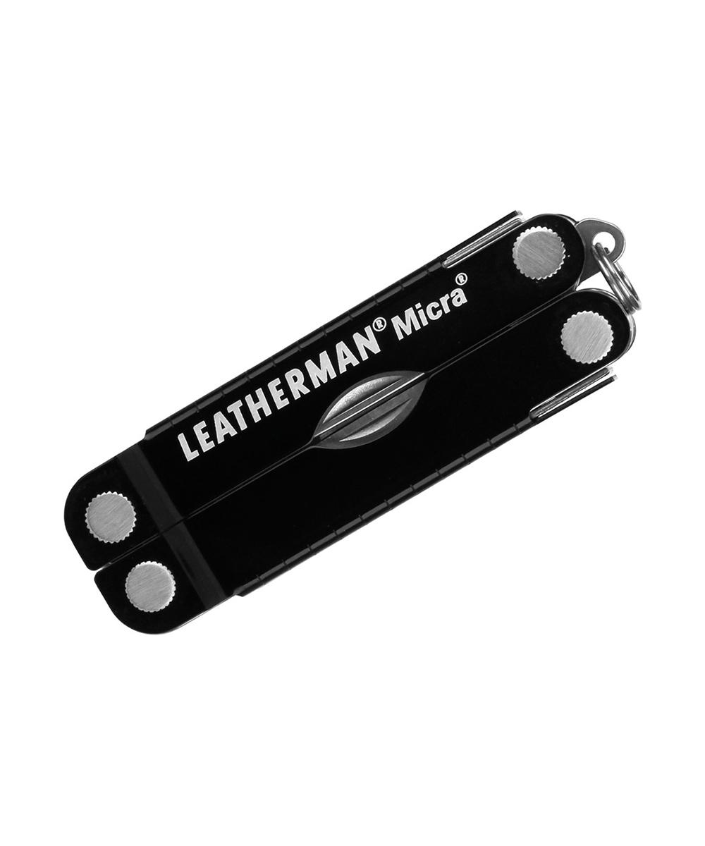 Мультитул Leatherman Micra, 10 функций, черный