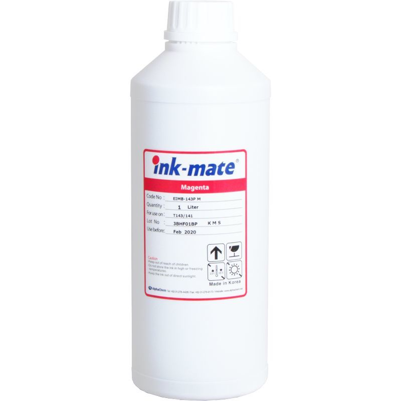 Чернила Пигментные INK MATE© Universal EIM-143P M 1кг, пурпурный (Magenta).
