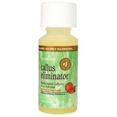 Be Natural Callus Eliminator Orange Ср-во для удаления натоптышей с запахом апельсина, 30 г