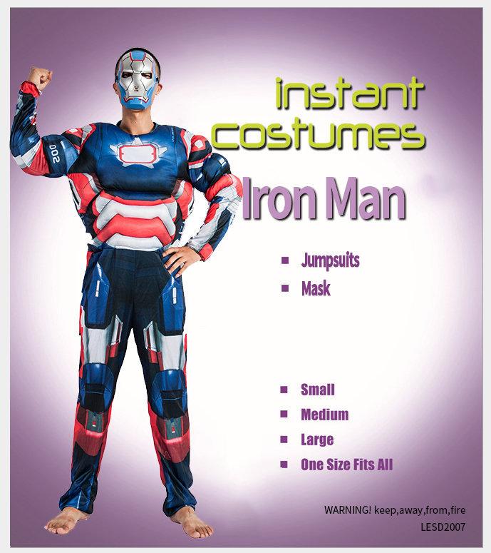 Костюм карнавальный  взрослый Железный человек