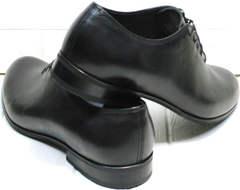 Класические туфли черные мужские Ikoc 063-1 ClassicBlack