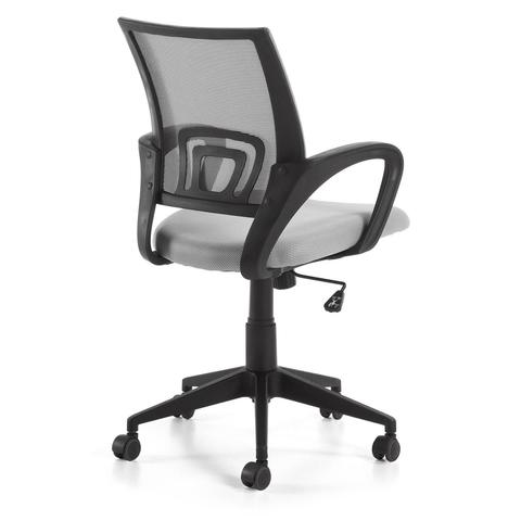 Поворотное кресло Ebor серое