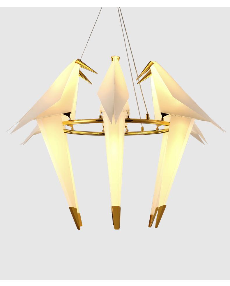 Подвесной светильник копия PERCH by Moooi (6 плафонов)