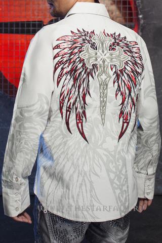 Мужская рубашка Rebel Spirit LSW110777