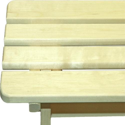 Скамья из осины, 90*40*44 см
