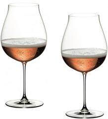 Набор из 2-х бокалов для вина Riedel New World Pinot Noir/Nebbiolo/Rose/Champagne, Riedel Veritas, 790 мл, фото 5