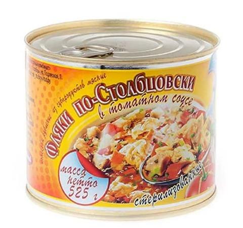 Фляки по-Столбцовски в томатном соусе 525г. Столбцы