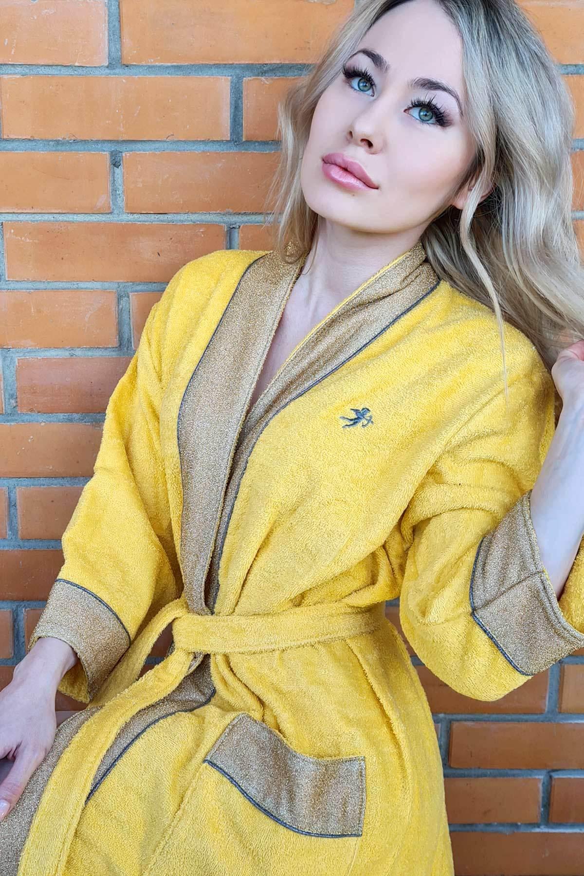 Махровое кимоно с люрексом Luna di Giorno