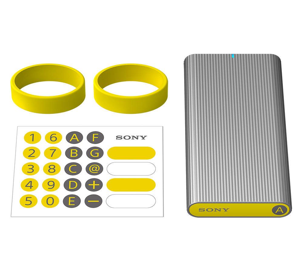 Внешний жёсткий SSD диск Sony SLMG5 на 500 Гб