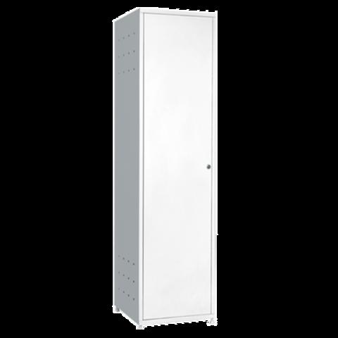 Шкаф металлический для уборочного инвентаря МСК - 649 - фото