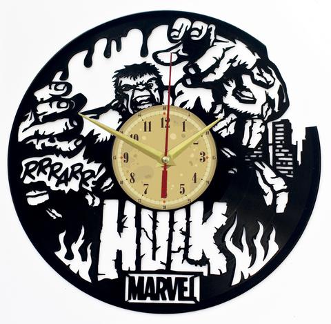 Халк Часы из Пластинки — Marvel