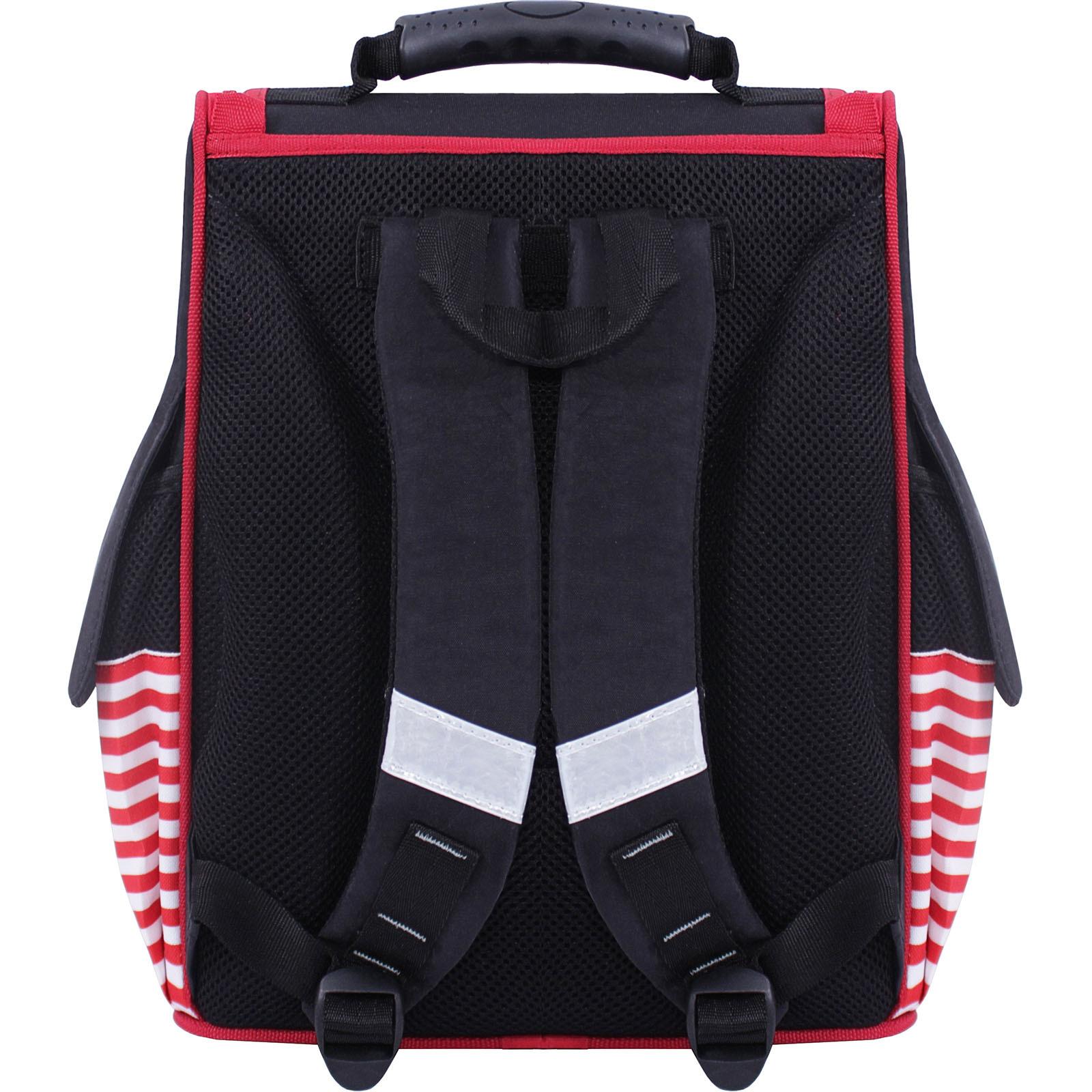 Рюкзак школьный каркасный Bagland Успех 12 л. Черный 374 (00551702) фото 3