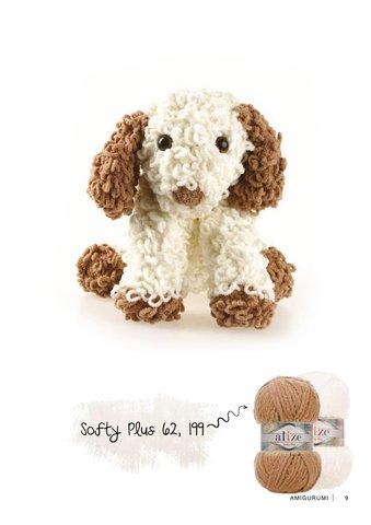 Пряжа Alize Softy Plus цвет 062