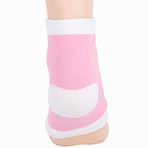 Увлажняющие носки с силиконовой пяткой