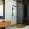 Смеситель для ванны с изливом и душевым комплектом TZAR 340501BTNM черный - фото №3