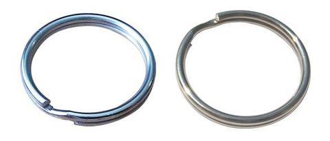 Кольцо для ключей  D=30 мм Аллюр