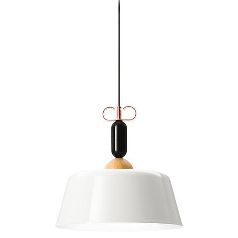 Подвесной светильник копия Bon Ton N3E1 by YUUE Design Studio  (белый)