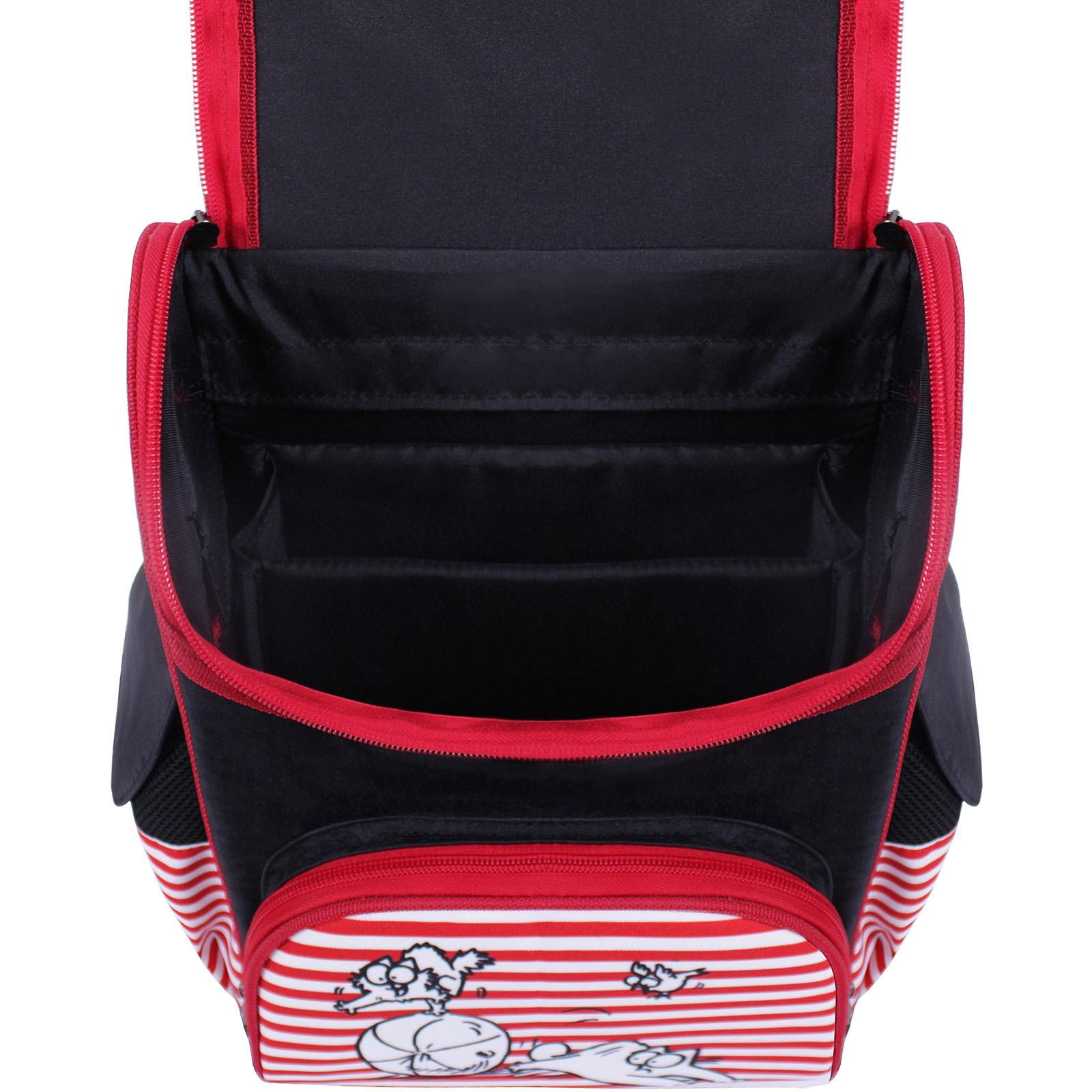 Рюкзак школьный каркасный Bagland Успех 12 л. Черный 374 (00551702) фото 4