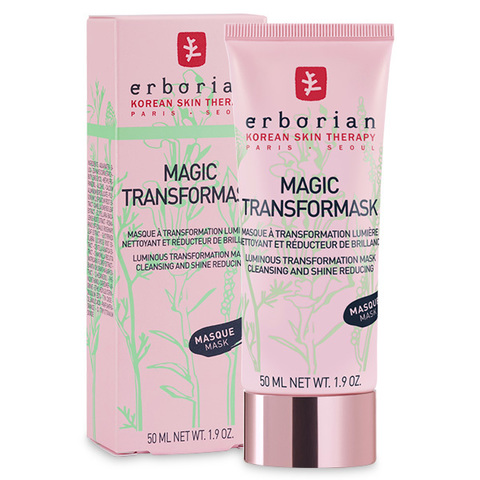 Erborian Магическая маска для лица Magic Transformask Luminous Transformation Mask Cleansing And Shine Reducing