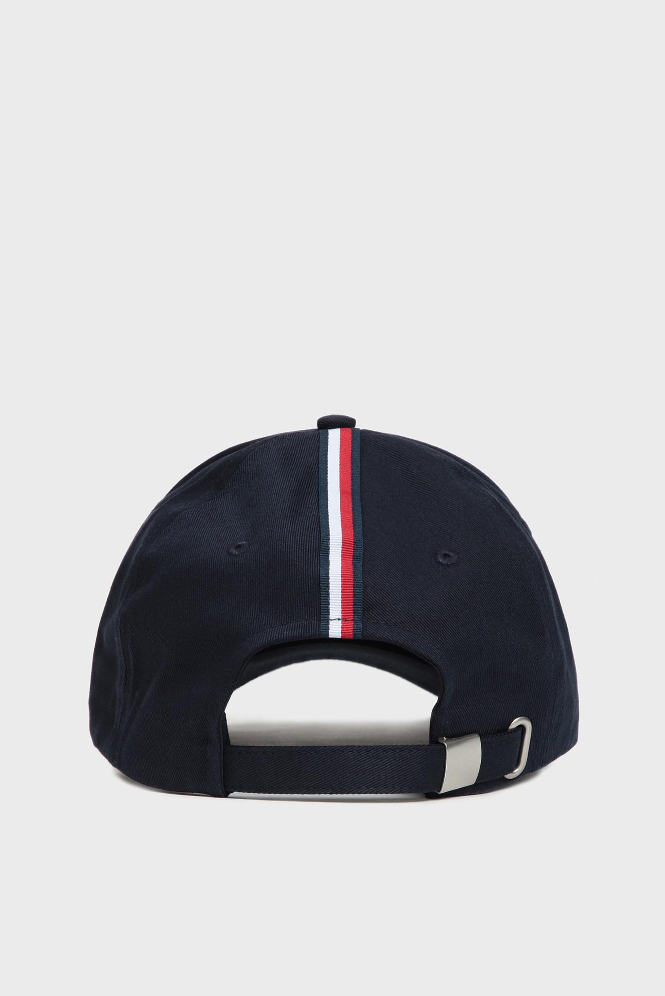 Мужская темно-синяя кепка TH ELEVATED Tommy Hilfiger