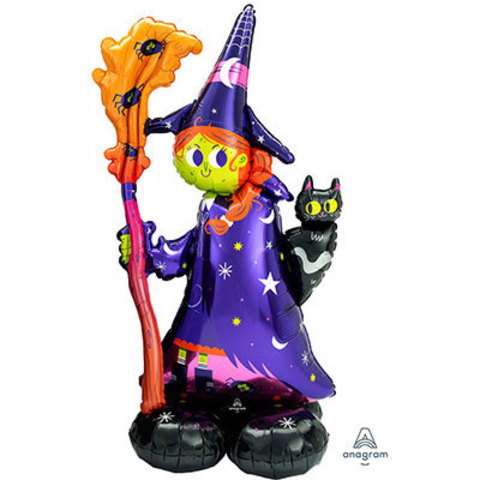 Шар фигура напольная Ведьма