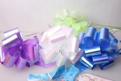 Подарочный Бант из ленты перламутровый 5см (10шт. в упаковке)