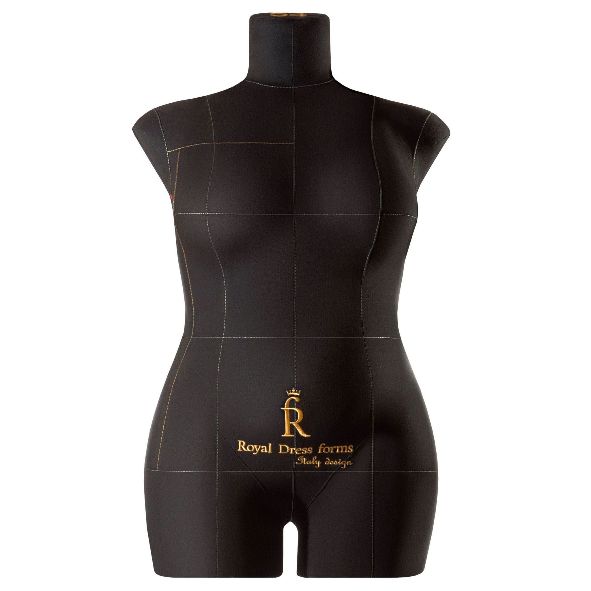 Манекен портновский Моника, комплект Стандарт, размер 54, Черная