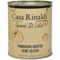 Помидоры Casa Rinaldi полусушёные по-деревенски в подсолнечном масле, 780г