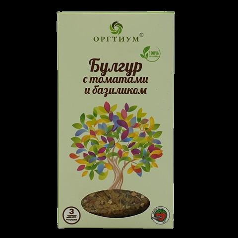 Булгур с томатами и базиликом ОРГТИУМ, 180 гр