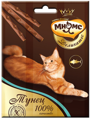 Лакомые палочки 9 см для кошек Мнямс Деликатес с тунцом