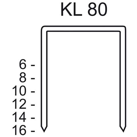 Скобы тип KL 80/10 CNK/3000