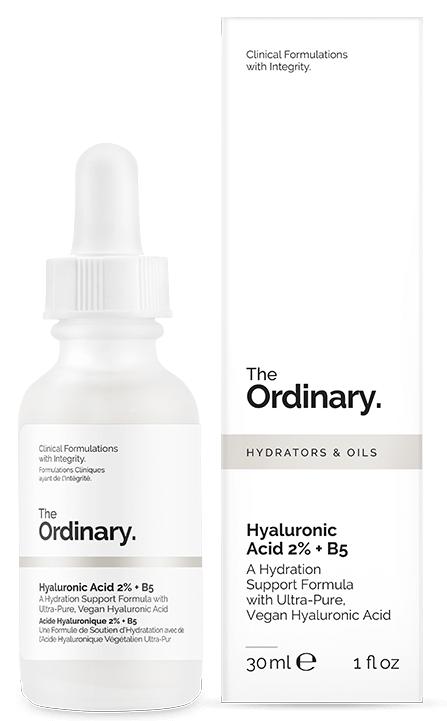 Сыворотка The Ordinary Hyaluronic Acid 2% + B5 с Гиалуроновой кислотой и Витамином В5
