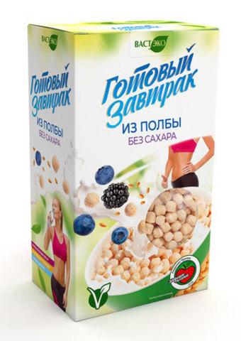 Готовый завтрак из полбы без сахара, 150 гр. (ВАСТЭКО)