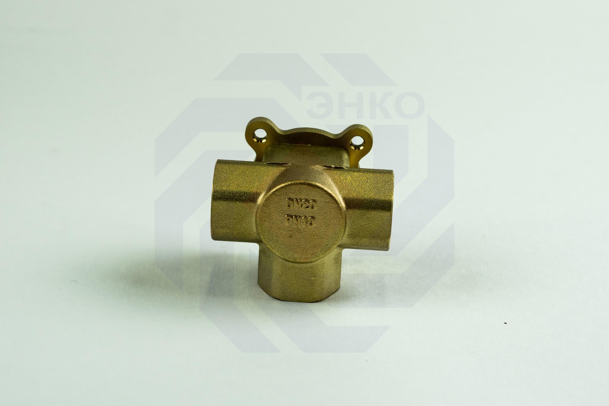 Клапан поворотный трехходовой GIACOMINI R297 ¾