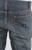Джинсы на шнурке мужские зауженные фото 6