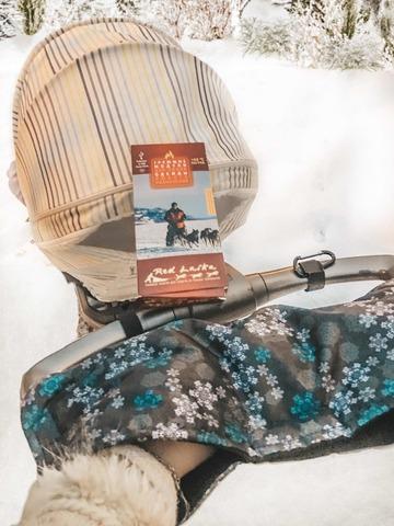 Муфта с подогревом для колясок RL-M-06 (с узорами)