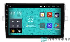 Штатная магнитола для Toyota Verso 09-11 на Android 6.0 Parafar PF135Lite