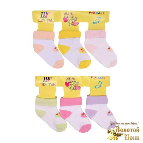 Носочки хлопок девочке (68-86) 201003-МД4455