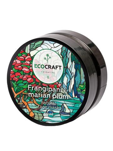 ECOCRAFT Маска для глубокого увлажнения кожи лица Frangipani and Marian plum Франжипани и марианская слива (60 мл)
