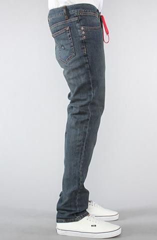 Джинсы на шнурке мужские зауженные фото 2