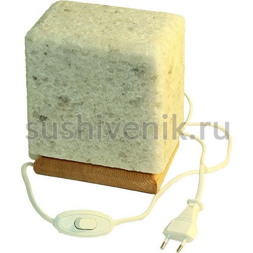 Соляная лампа на подставке
