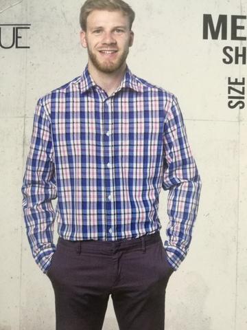 Рубашка мужская 9th Avenue