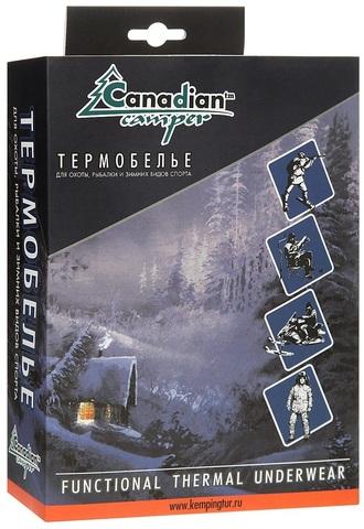 Термобелье Canadian Camper SILVAN (кальсоны), цвет brown