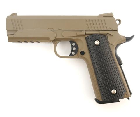 Страйкбольный пистолет Galaxy G.25D COLT1911PD металлический, пружинный