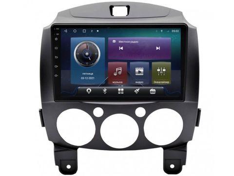 Магнитола  для Mazda 2/Demio (07-14) Android 10 4/64 IPS DSP 4G модель CB-2086TS10