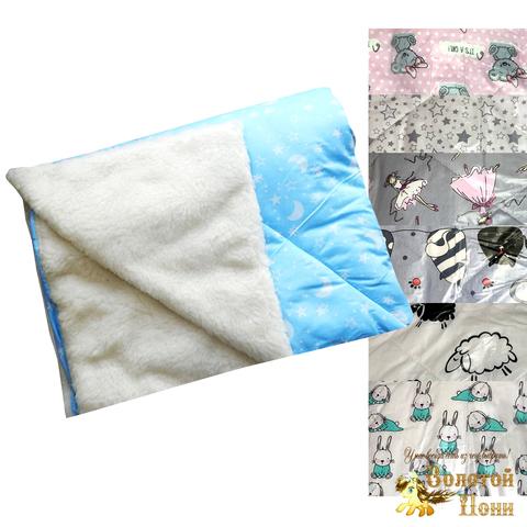 Одеяло-плед на меху детское (110х143) 201003-МД4457